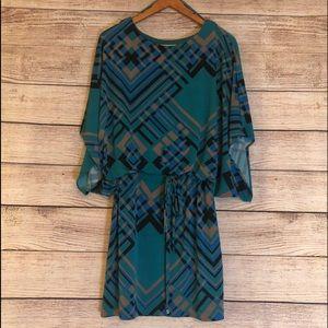Jessica Simpson Abstract Print Dress